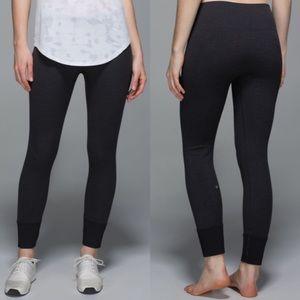 Lululemon ebb to street pants grey size 6